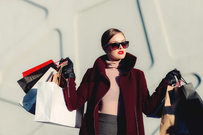 Spoiled Rich Girls Leeching Off Parents Boosts US Economy by 3.5% Woman Shopping