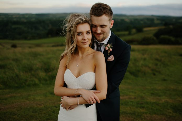 Newlyweds Excitedly Planning Divorce - Bride and Groom