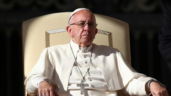 Pope Francis: Having Sex Is Literally Like Watching Live Amateur Porn